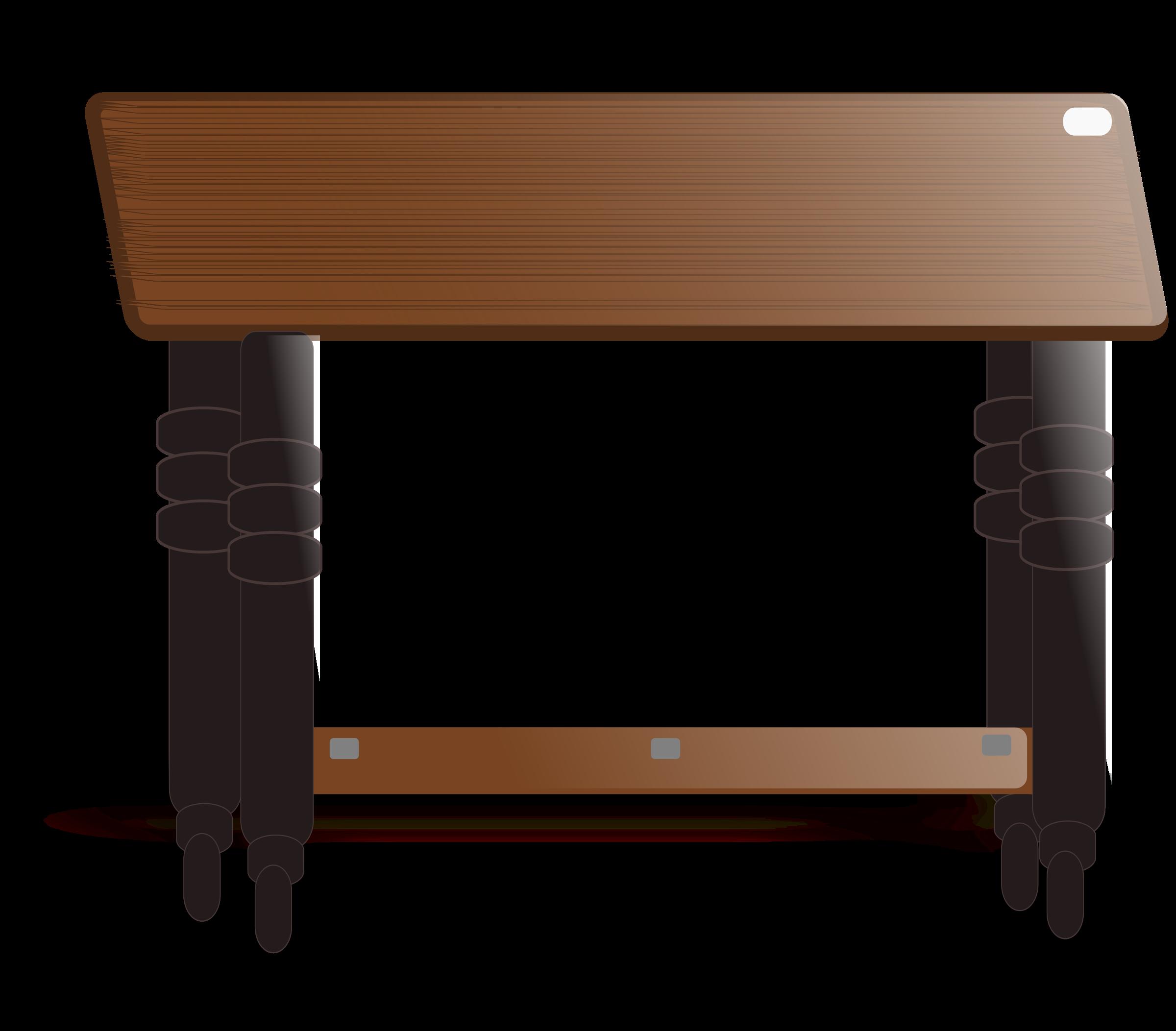 Teak top big image. Clipart table fancy table