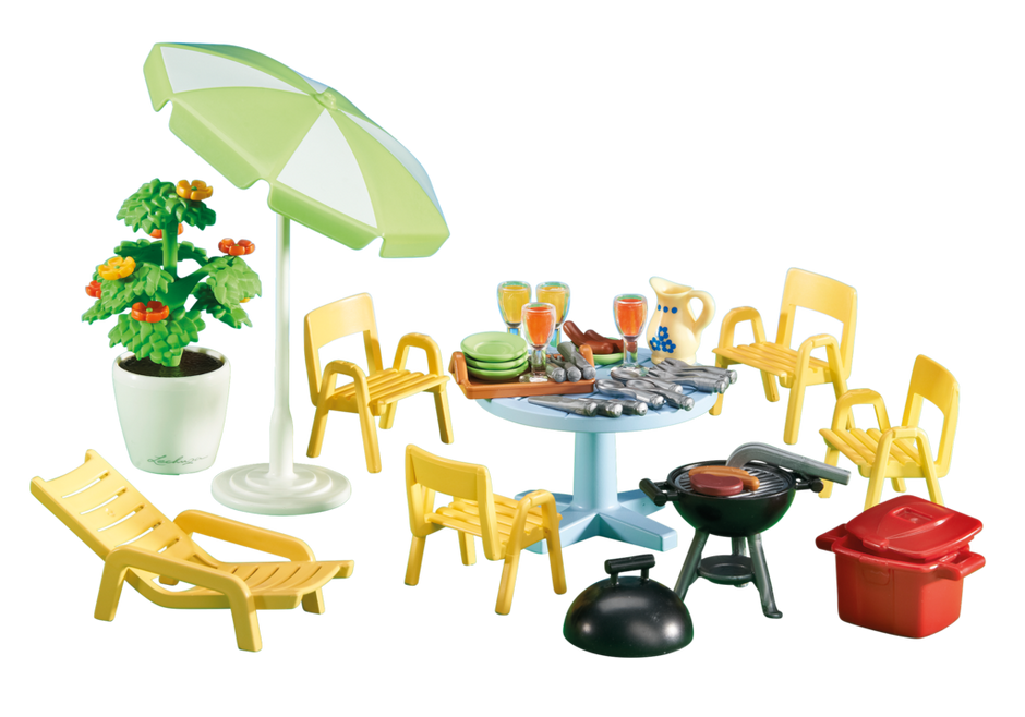 Furniture clipart dollhouse furniture. Patio playmobil united kingdom