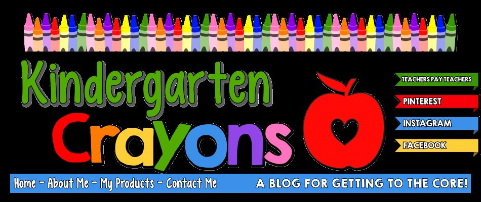 Crayons clipart shape. Kindergarten
