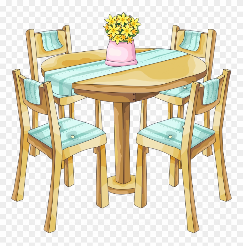Furniture clipart dinning table. Dining bg room png
