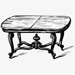 Simple transparent png . Clipart table living room table