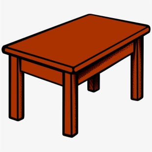 clipart table long table