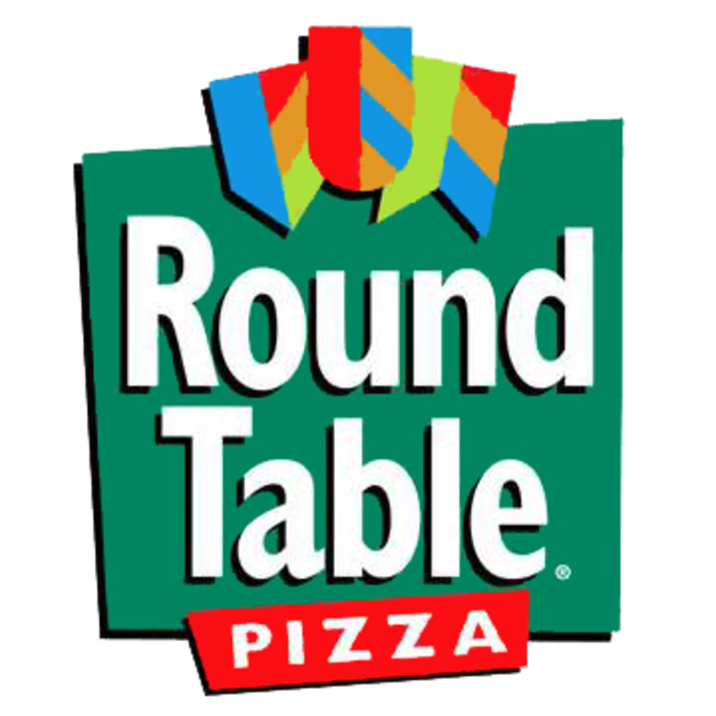 Clipart table lunch table. Round pizza delivery s