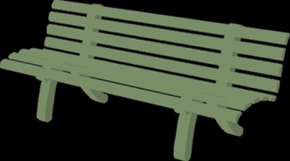 Clipart table meja. Park bence taman pencil