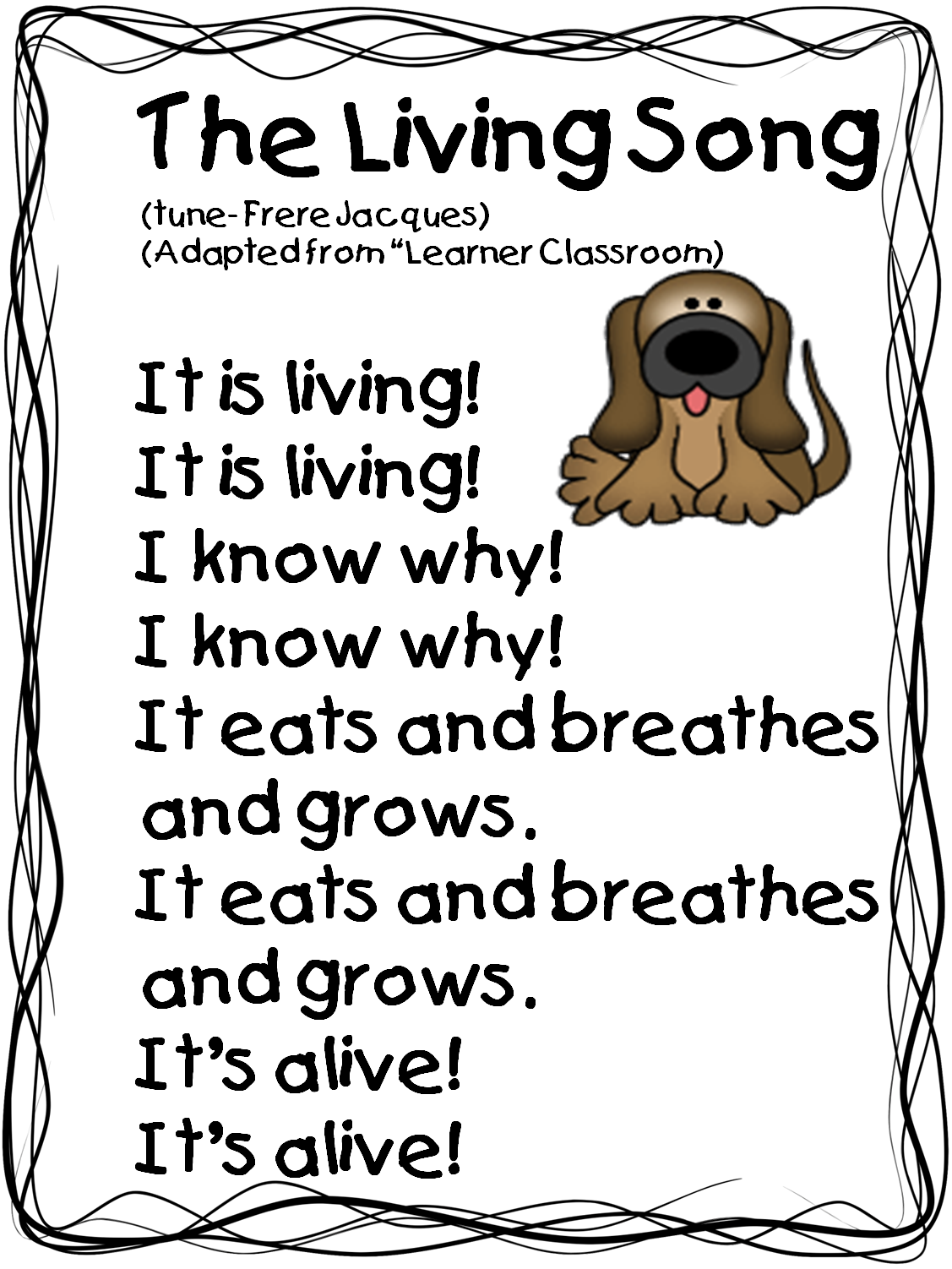 Clipart table non living thing. And nonliving things worksheet