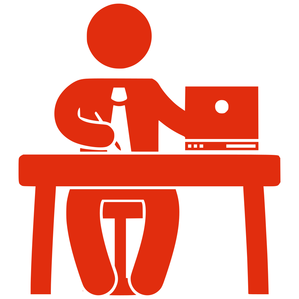 Clipart table office table. Onlinelabels clip art silhouette