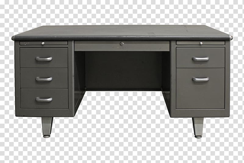 Clipart table office table. Desk drawer furniture steel