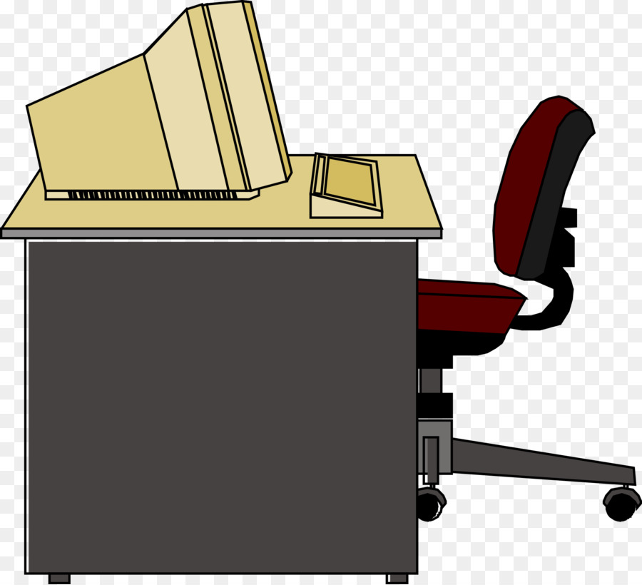 Clipart table office table. Cartoon png download free