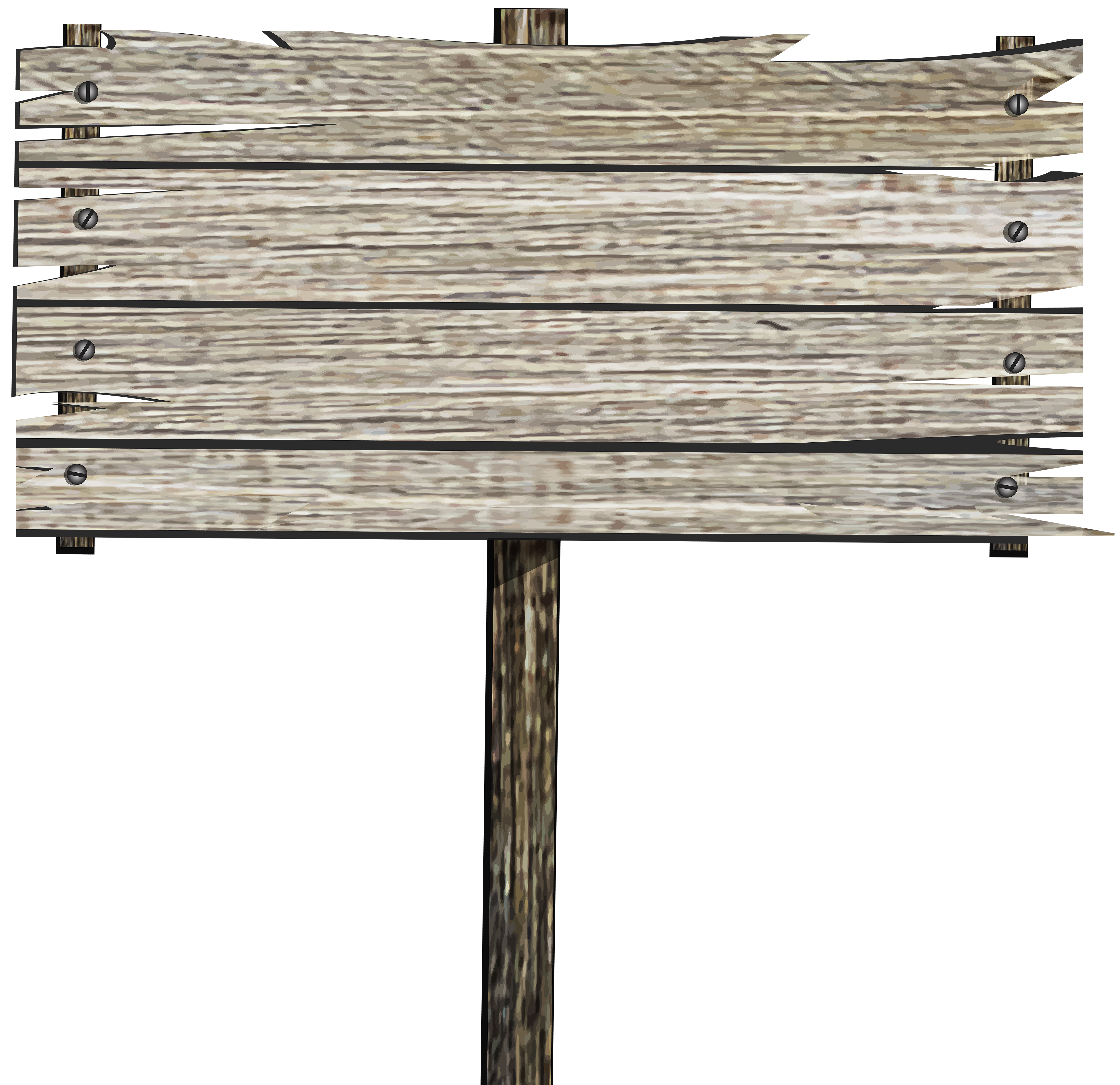 Clipart table old table. Wooden sign png clip