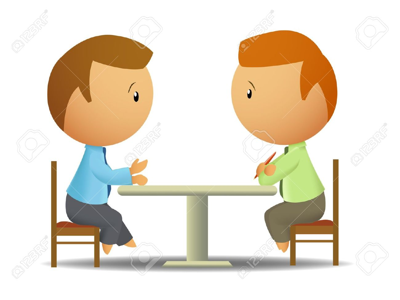 Conversation clipart two person.  talking clipartlook