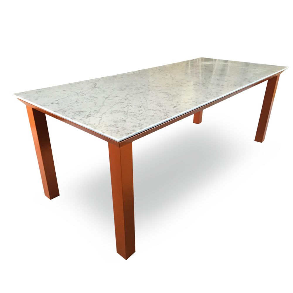 Furniture clipart rectangular table. Kobra dining tables corfu