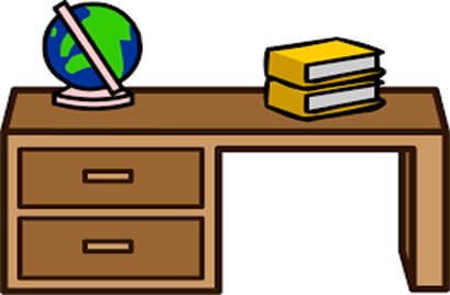 Clipart table study table. Free desk download clip
