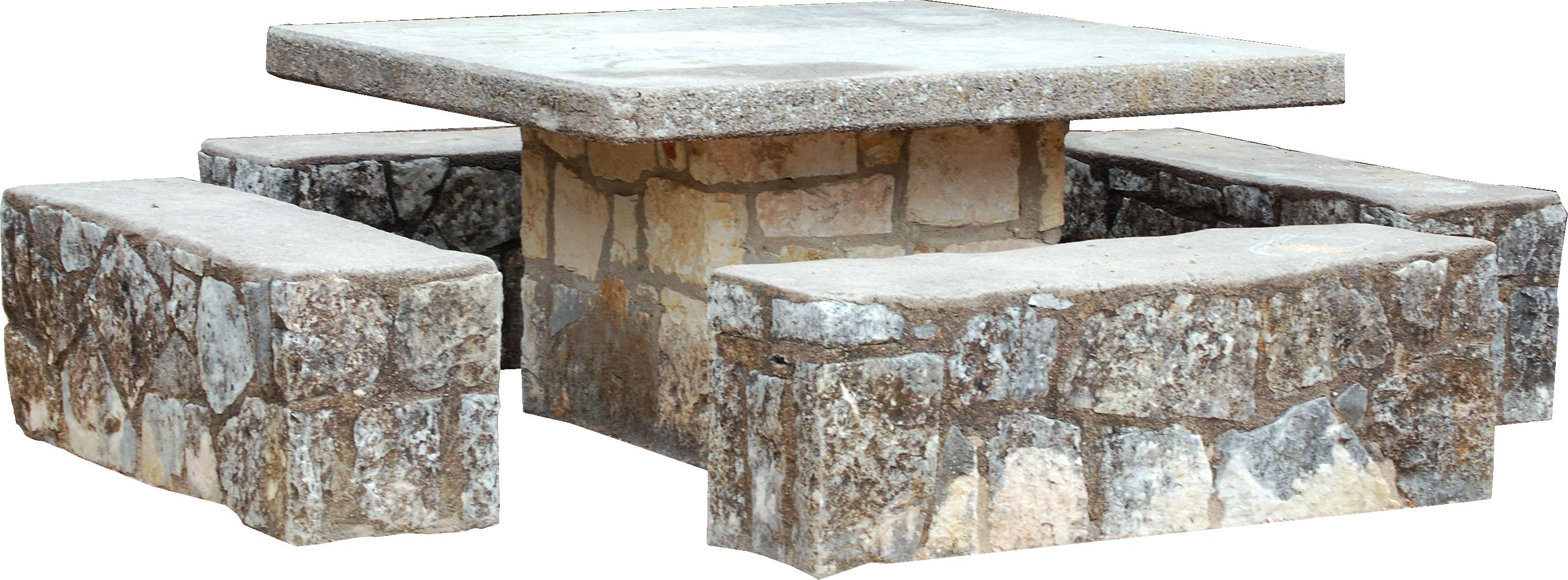 Park clip art stone. Clipart table table chair