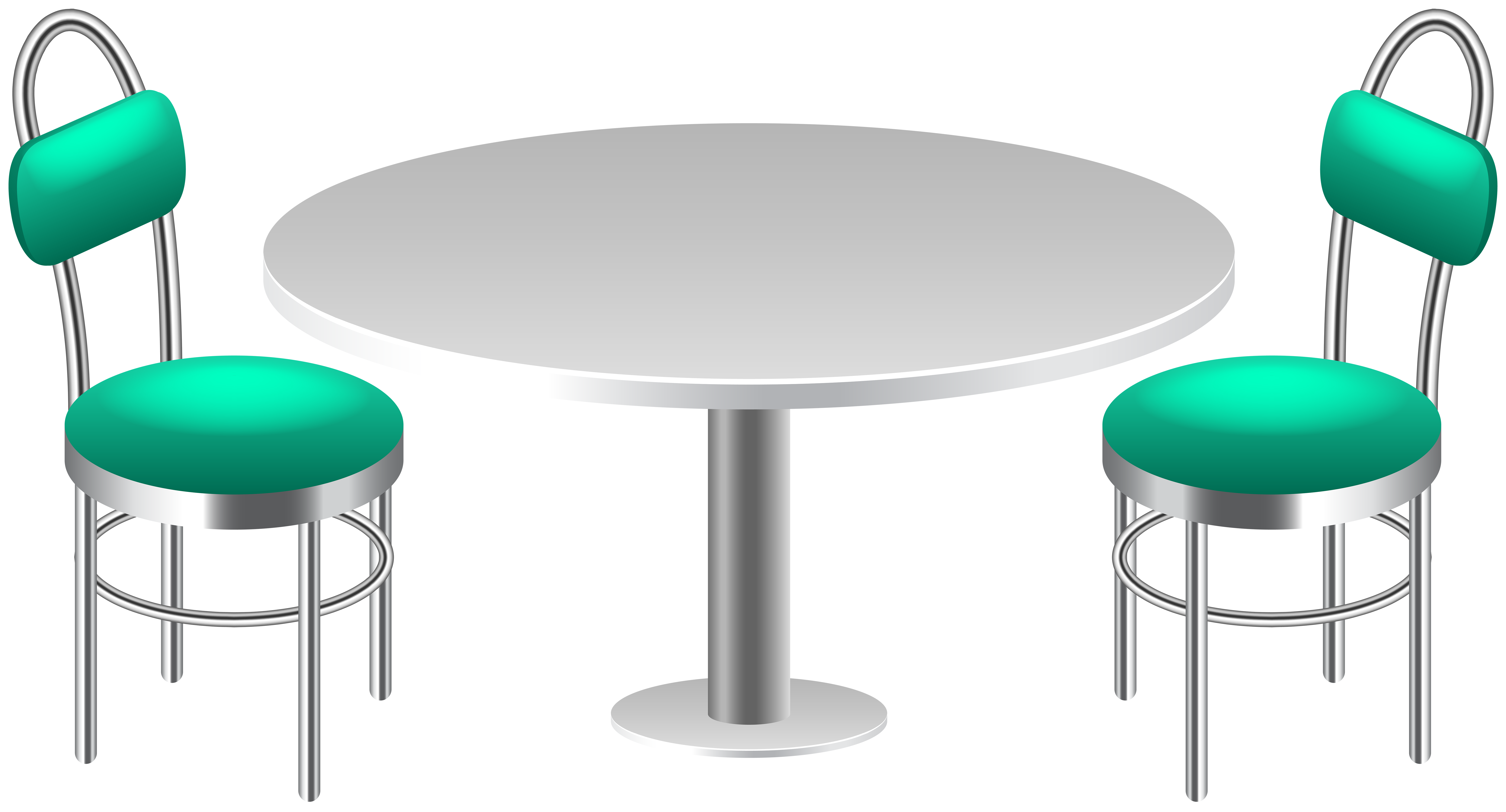 With chairs transparent png. Clipart table table chair