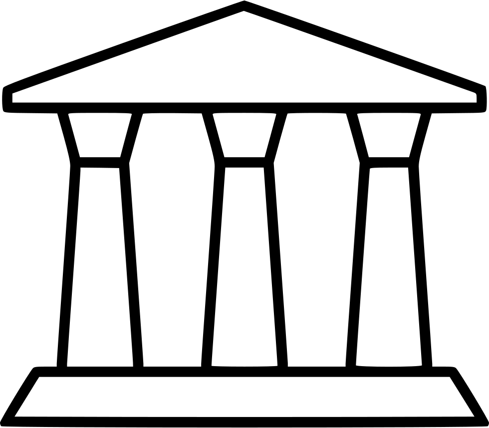 Outdoor end line furniture. Clipart table table outline