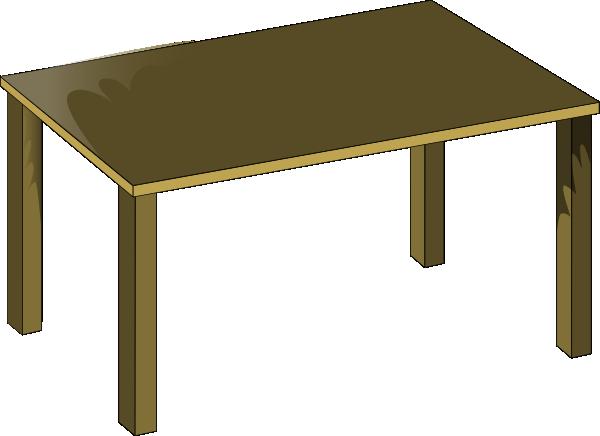 Desk clipart wood desk. Table student school clip