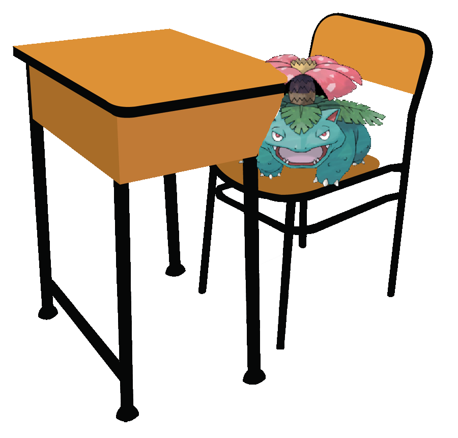 Clipart table table student. The darkness of pokemon