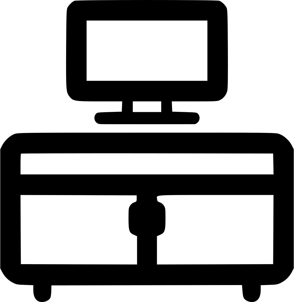 Dresser clipart tv stand. Table svg png icon