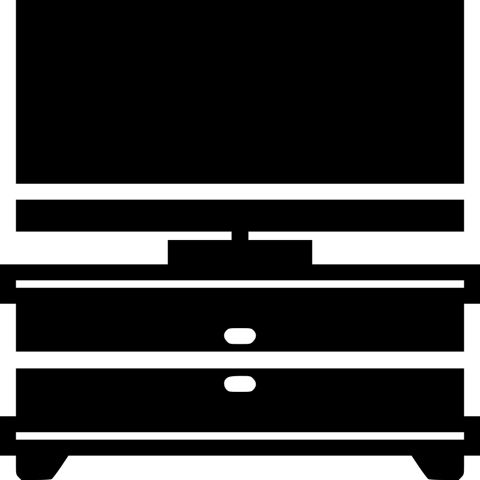 Stand svg png icon. Furniture clipart tv cabinet