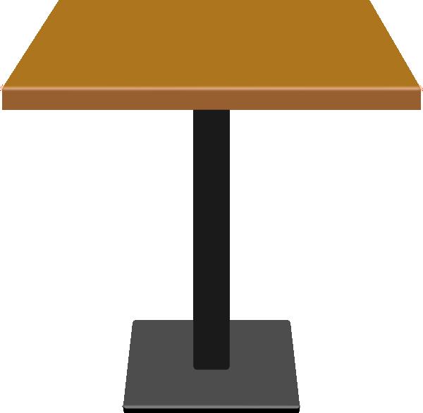 Wood table clip art. Desk clipart small desk