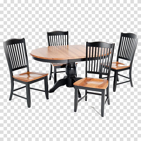 Oblong brown with four. Clipart table wooden table