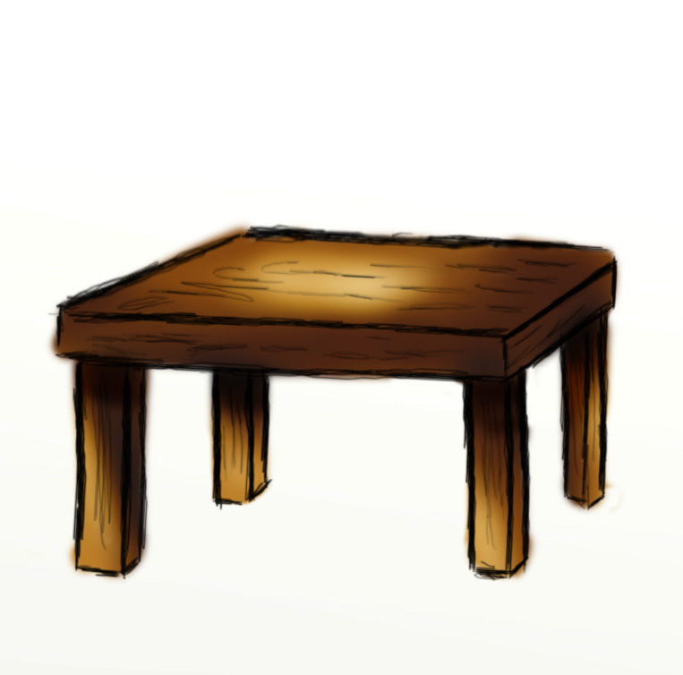 Clipart table wooden table. Cartoon free download best