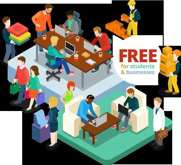 Collaboration clipart admin team. Worktaster welcome worktastercom