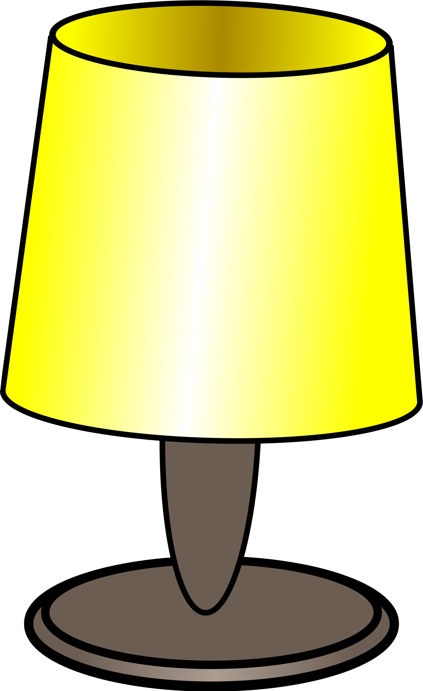 Lights clipart uses light. Table lamp big image