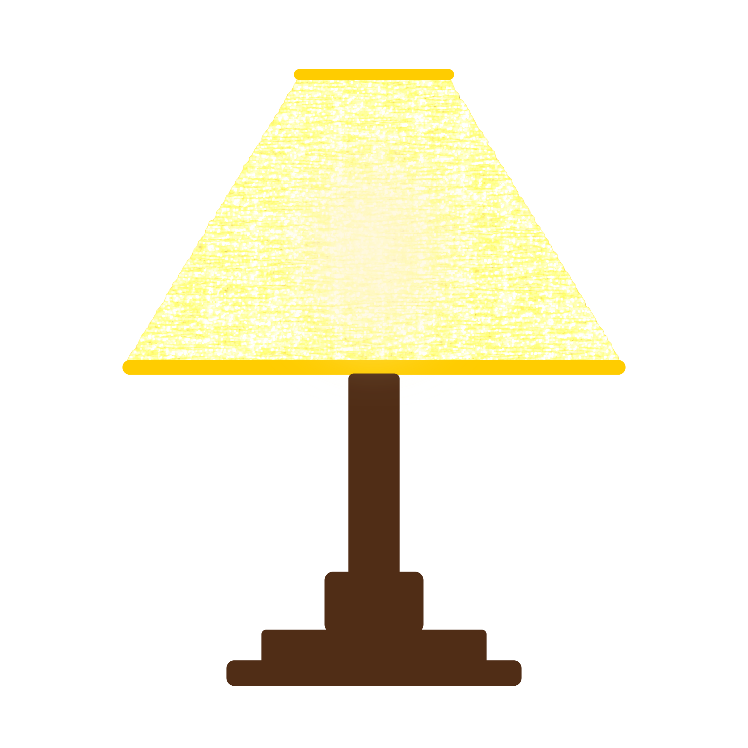 Color clipart yellow. Lamp shade simple three