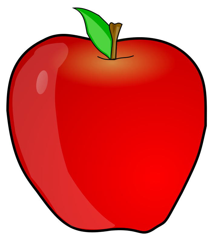 Free another anonymous animations. Scale clipart apple