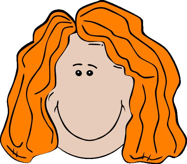 Light brown clip art. Girl clipart nose
