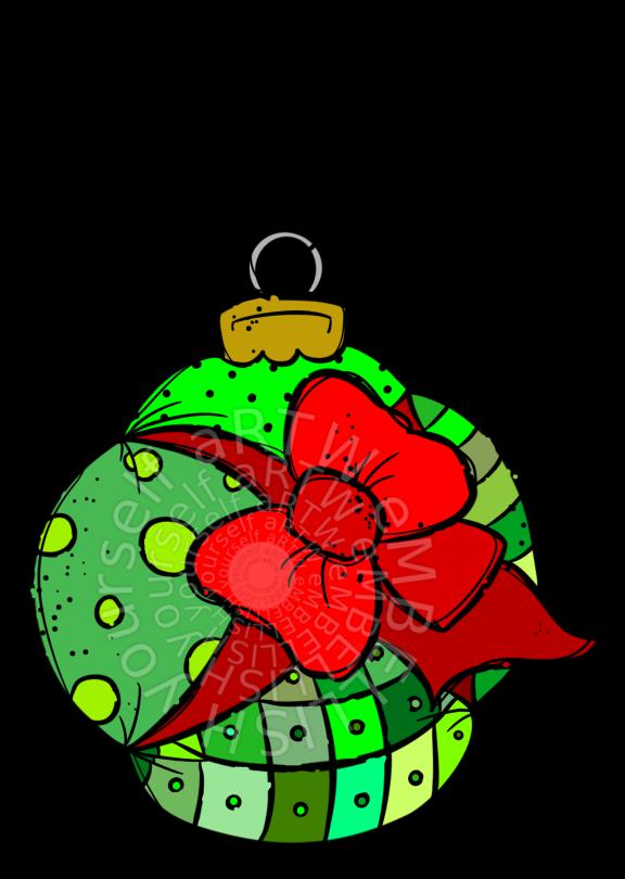 Fun christmas friends ornaments. Holiday clipart teacher
