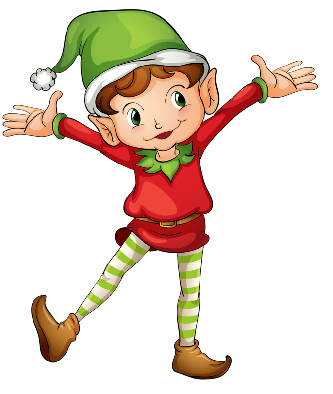 Christmas elves free and. Stamp clipart elf