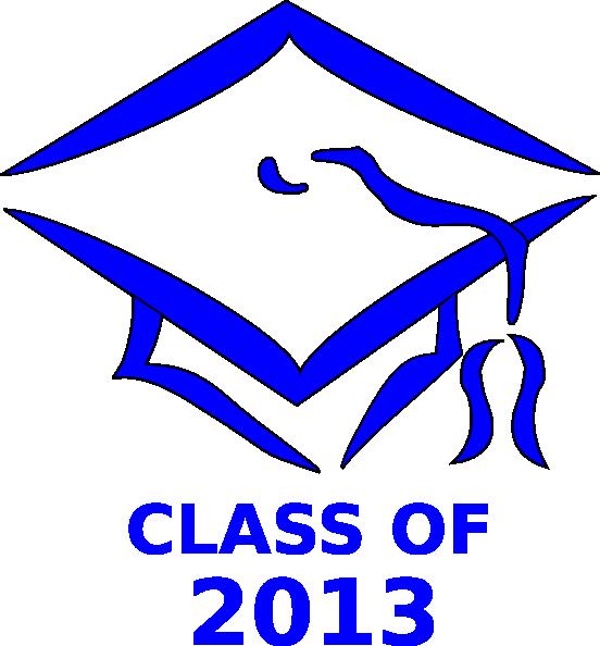 Class of cap clip. Graduation clipart backdrop