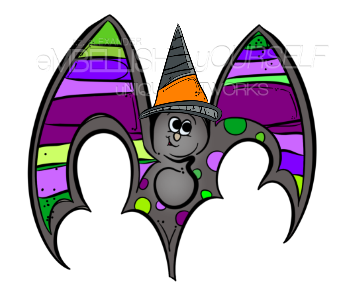 Clipart teacher halloween. A graphic created by
