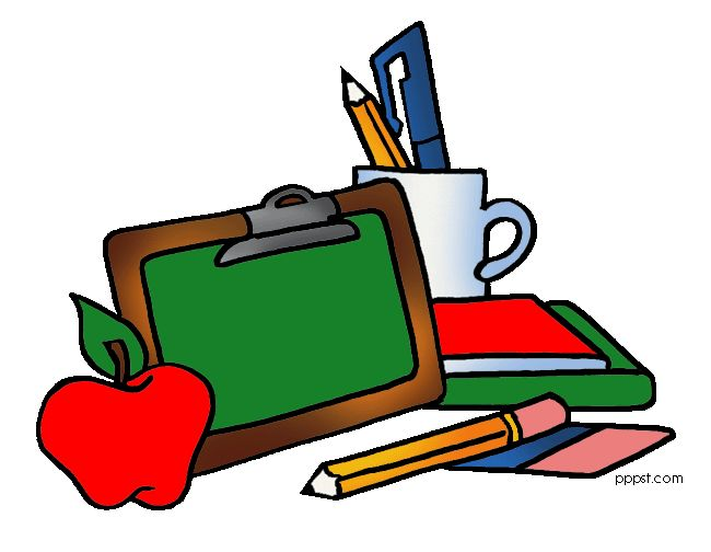 English clipart study material. School clip art library