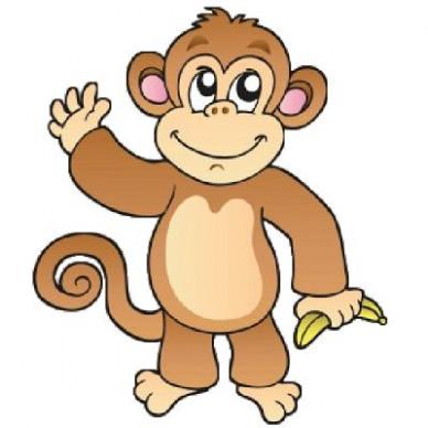 Clip art for teachers. Monkey clipart teacher