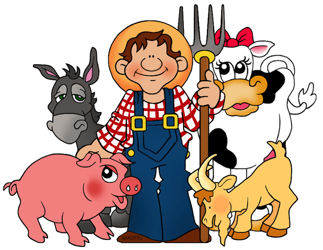 Farmers clipart teacher. Occupations clip art by