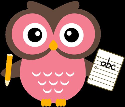 Ratanavong amy teacher homepage. Owl clipart professor