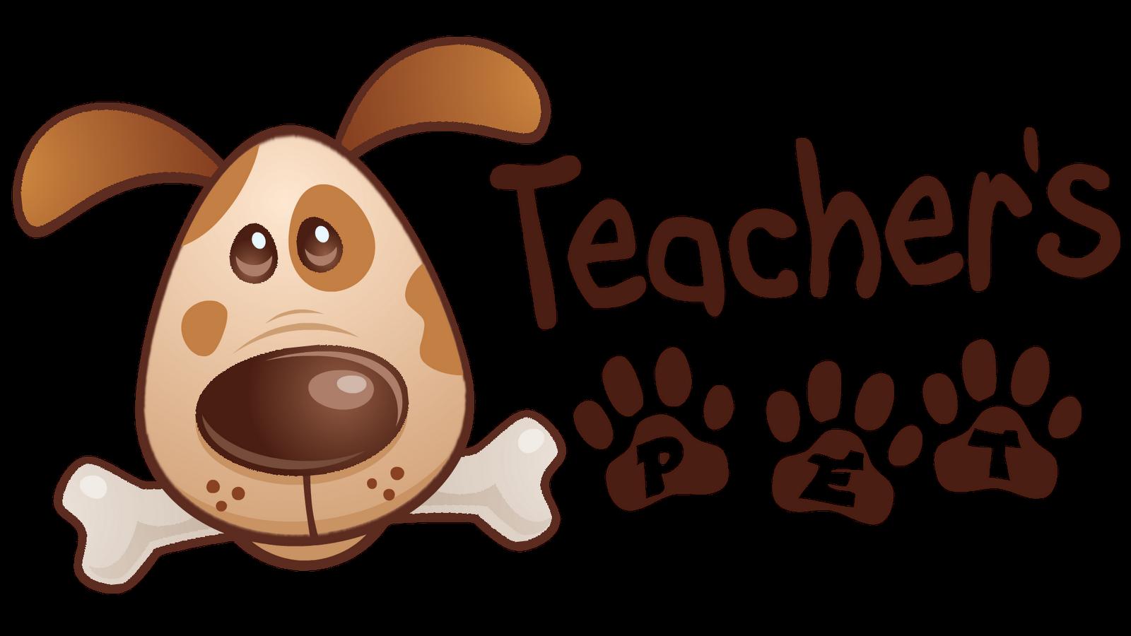Ready steady smile and. Clipart teacher pet