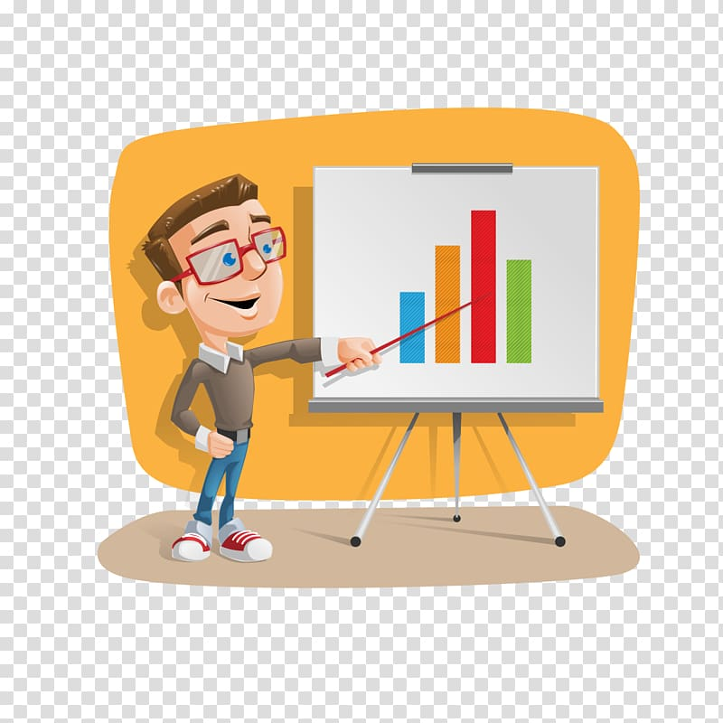 Clipart teacher presentation. Transparent background png
