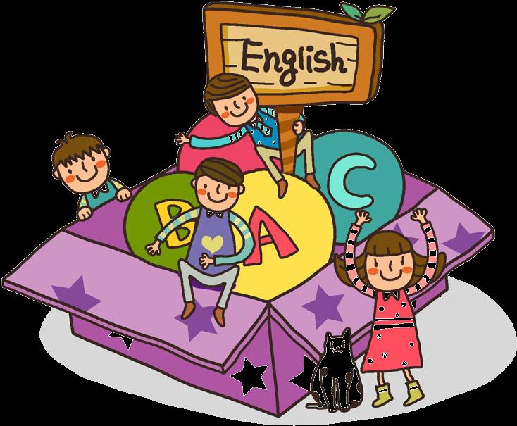 English teaching kids . Clipart teacher spelling