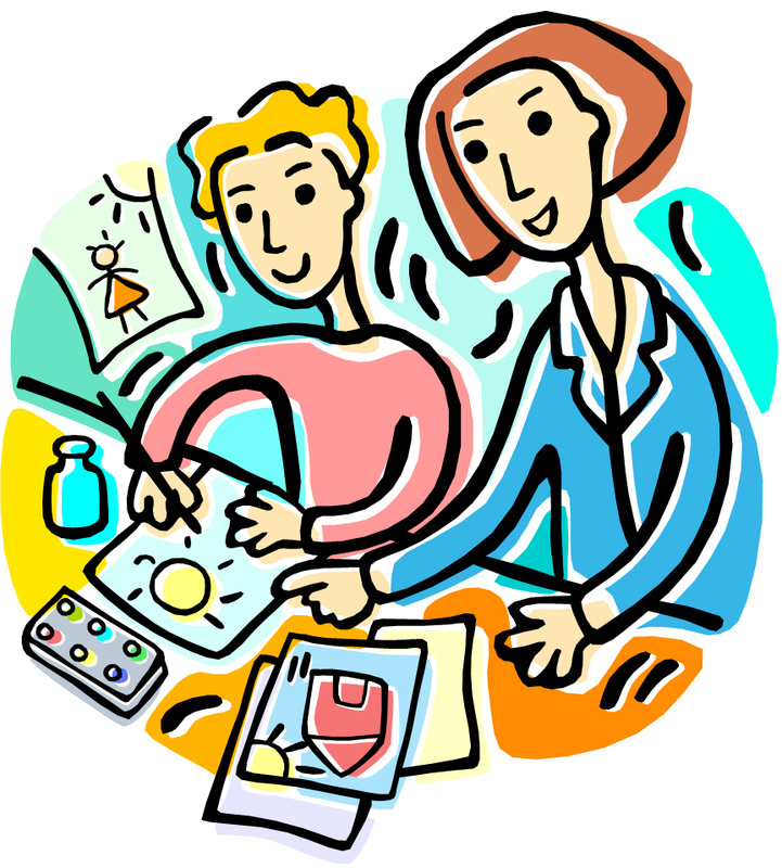 Clipart teacher strategy. Students talking free download