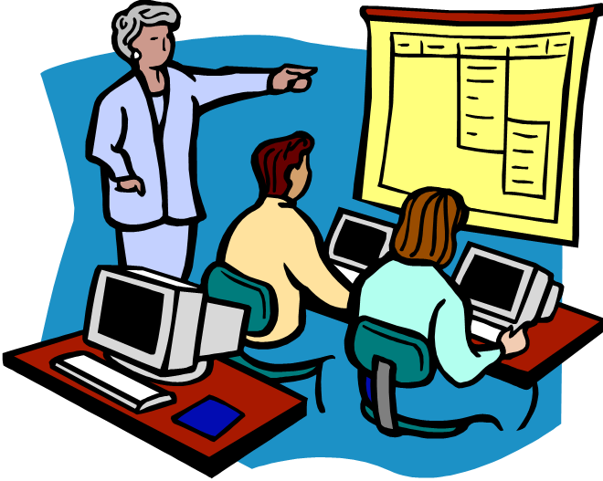 collection of ict. Clipart teacher technology