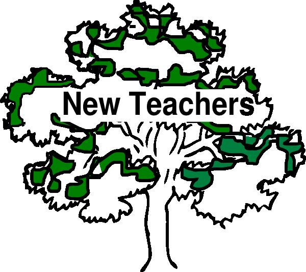 New clip art at. Tree clipart teacher