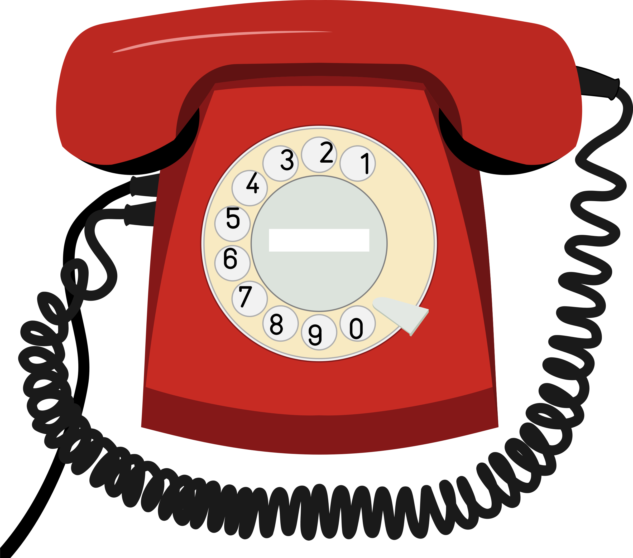 telephone clipart cute