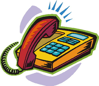 Telephone clipart. Clip art communication picgifs
