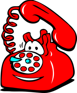 Telephone clipart. Fun clip art at