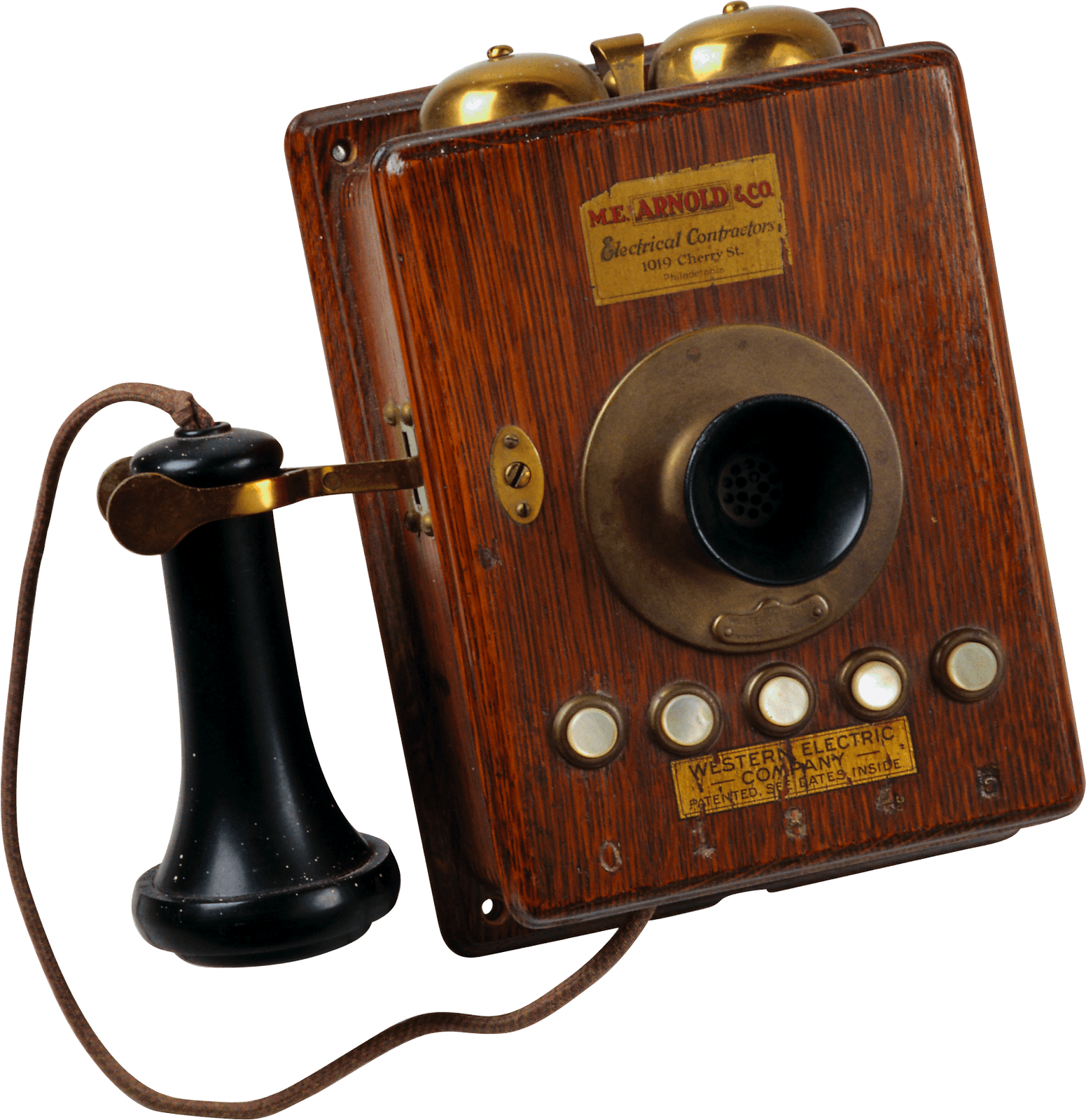 Western electric transparent png. Phone clipart vintage phone