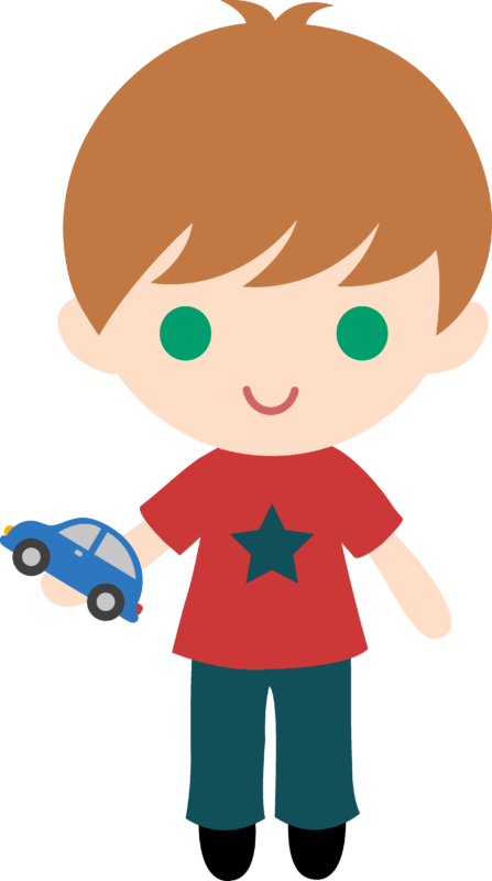 Clock clipart kid png. Free boy black and